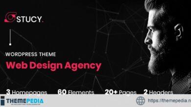 Stucy – Web Design Agency WordPress Theme [Free download]