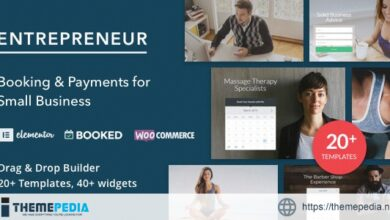 Entrepreneur – Booking for Small Businesses [nulled]