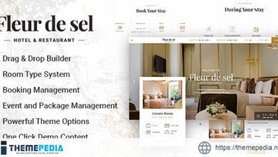 Fleurdesel – Hotel Booking WordPress Theme [Free download]
