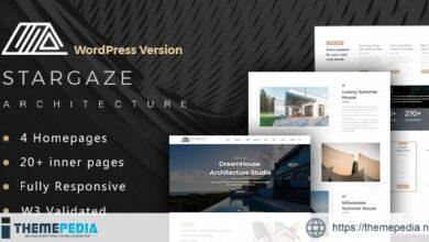 Stargaze – Architecture & Interior WordPress Theme [Free download]