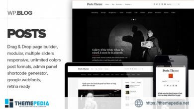 Posts – Responsive Personal Blog Theme [Free download]