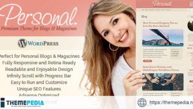 Personal WordPress Theme [Free download]