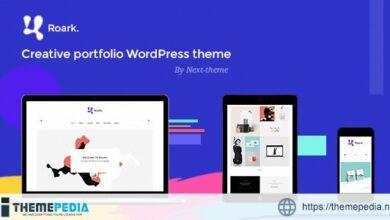 Roark – Minimal Portfolio WordPress Theme [Updated Version]