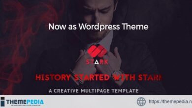 Stark – Creative WordPress Theme [Free download]