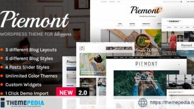 Piemont – Premium Travel & Lifestyle Responsive WordPress Blog Theme [Updated Version]