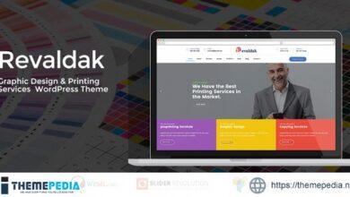 Revaldak – Printing Services WordPress Theme [Updated Version]