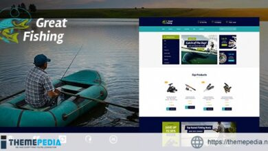 Fishing and Hunting Hobby WordPress Theme [nulled]
