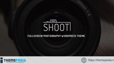 Shoot – Fullscreen Photography WordPress Theme [Free download]
