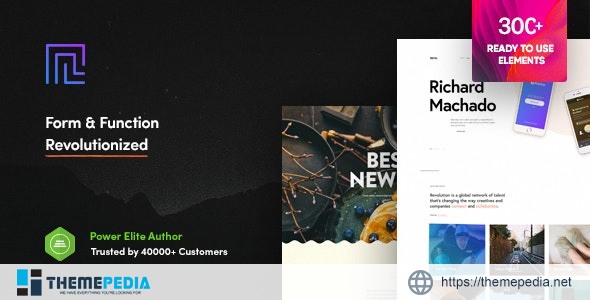 Revolution – Creative Multipurpose WordPress Theme [nulled]