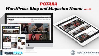 Potara – WordPress Theme – Blog&Magazine [Free download]