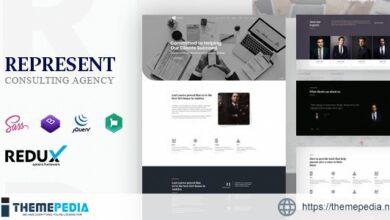 Represent – Consulting Finance WordPress [Updated Version]