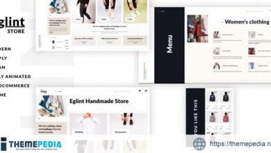 Eglint – Minimal and Modern WooCommerce Theme [Free download]