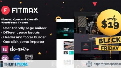 Fitmax – Gym and Fitness WordPress Theme [Free download]