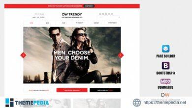 DW Trendy – Responsive WooCommerce WordPress Theme [Updated Version]