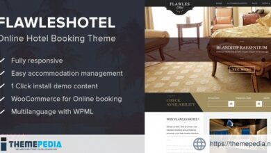 Flawleshotel – Online Hotel Booking Theme [nulled]