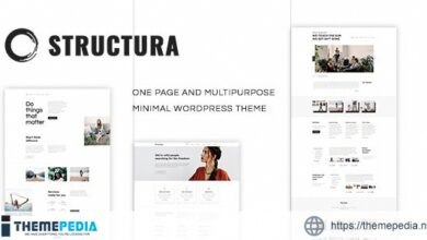 Structura – Minimal One Page Theme [Free download]
