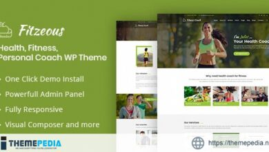 Fitzeous – Personal Fitness Trainer WordPress Theme [Free download]