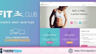 Fitness Club – Health & Gym [Free download]