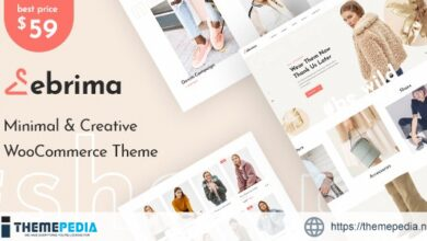 Ebrima – Minimal & Creative WooCommerce WP Theme [Free download]