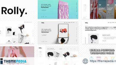 Rolly – Creative Portfolio [Free download]
