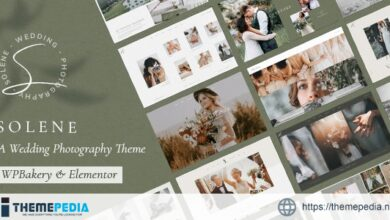 Solene – Wedding Photography Theme [Free download]
