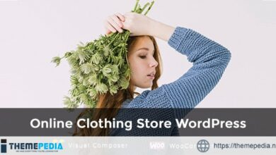 EmShop – Clothing Fashion Store WordPress Theme [Free download]