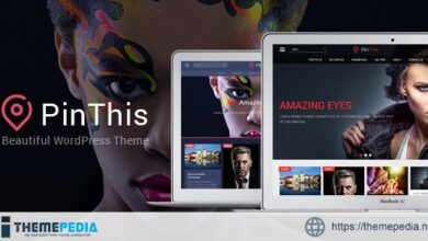 PinThis – Masonry Style WordPress Theme [Free download]