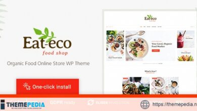 Eat Eco – Healthy & Organic Food Shop WooCommerce Theme [Free download]