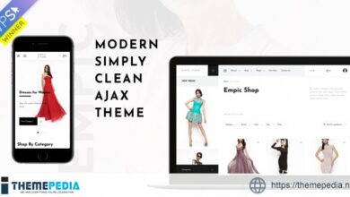 Empic – Ajax Powered Multi-Concept WooCommerce Theme [Free download]