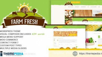 Farm Fresh – Organic Products WordPress Theme [Free download]