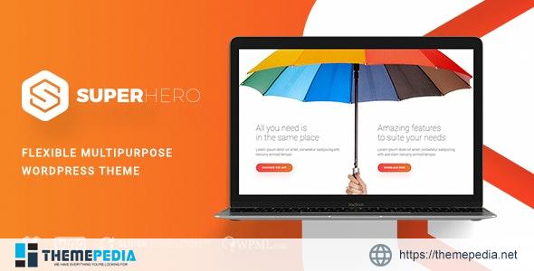 Superhero — Creative Multi-Purpose WordPress Theme [Updated Version]