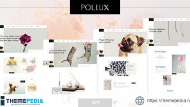 Pollux – Blogs & Magazines Clean Theme [Free download]