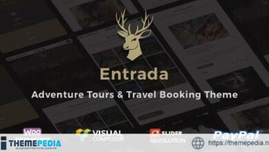 Entrada Tour Travel Booking WordPress Theme [Free download]