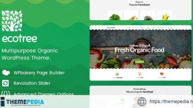 Ecotree – Organic Food WordPress Theme [Free download]