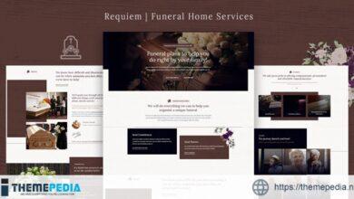Requiem – Funeral Home Services WordPress Theme [Updated Version]