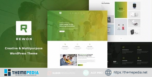 Rewon – MultiPurpose Business WordPress Theme [Free download]