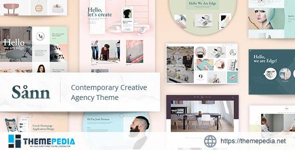 Sånn – Design Portfolio Theme [Free download]