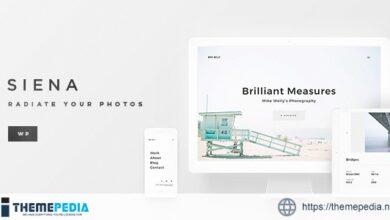 Siena – Aesthetic Photography Portfolio Theme for WordPress [Free download]