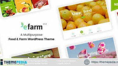 eFarm – A Multipurpose Food & Farm WordPress Theme [Free download]