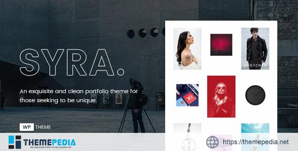Syra – Minimal Showcase Portfolio WordPress Theme [nulled]
