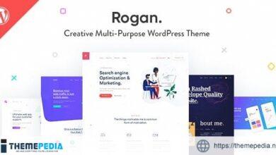 Rogan – Creative Multipurpose WordPress Theme for Agency, Saas, Portfolio [Free download]