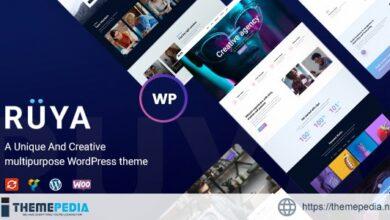 Ruya – Creative Multi-Purpose WordPress Theme [Free download]
