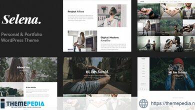 Selena. – Multipirpose WordPress Theme [Latest Version]