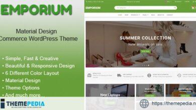 Emporium – Material Design eCommerce WordPress Theme [Updated Version]