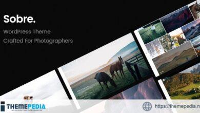 Sobre – Minimal Photography Portfolio WordPress Theme [Free download]