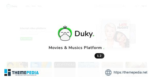 Duky – Movies & Music Platform – [100% Nulled Script]