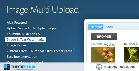 Image Multi Upload – [Free Download]