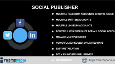 Social Publisher – Facebook, Twitter & LinkedIn Multiple Account – [Codecanyon Scripts]