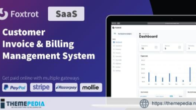 Foxtrot SaaS – Customer, Invoice and Expense Management System – [100% Nulled Script]