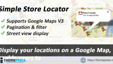 Simple Store Locator – [Free Download]